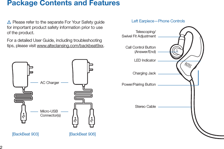 Plantronics Bb903 Bluetooth Headset User Manual Manual 1