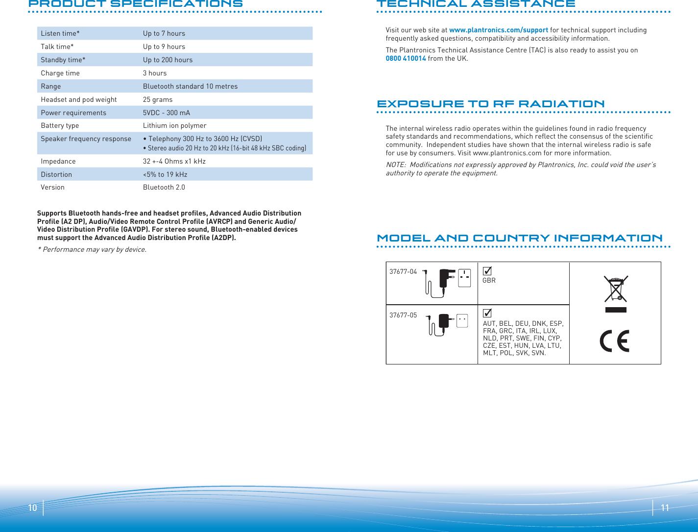 bf3b62809 Page 6 of 7 - Plantronics Plantronics-Explorer-260-Users-Manual-