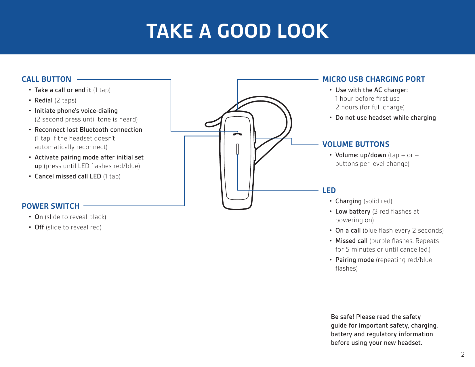 Plantronics Bluetooth Headset Ml10 Users Manual
