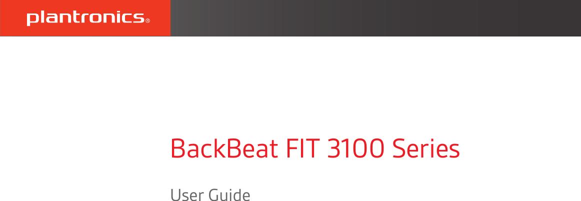 Plantronics Backbeat fit 3100 ug