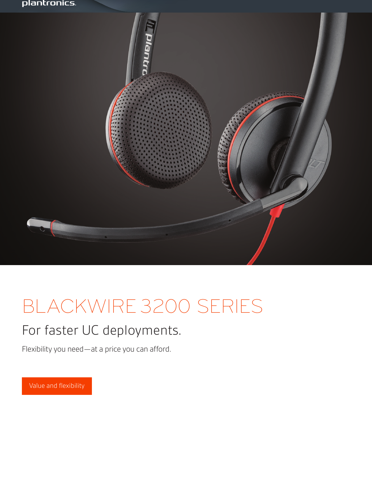 Plantronics Blackwire 3200 Ps