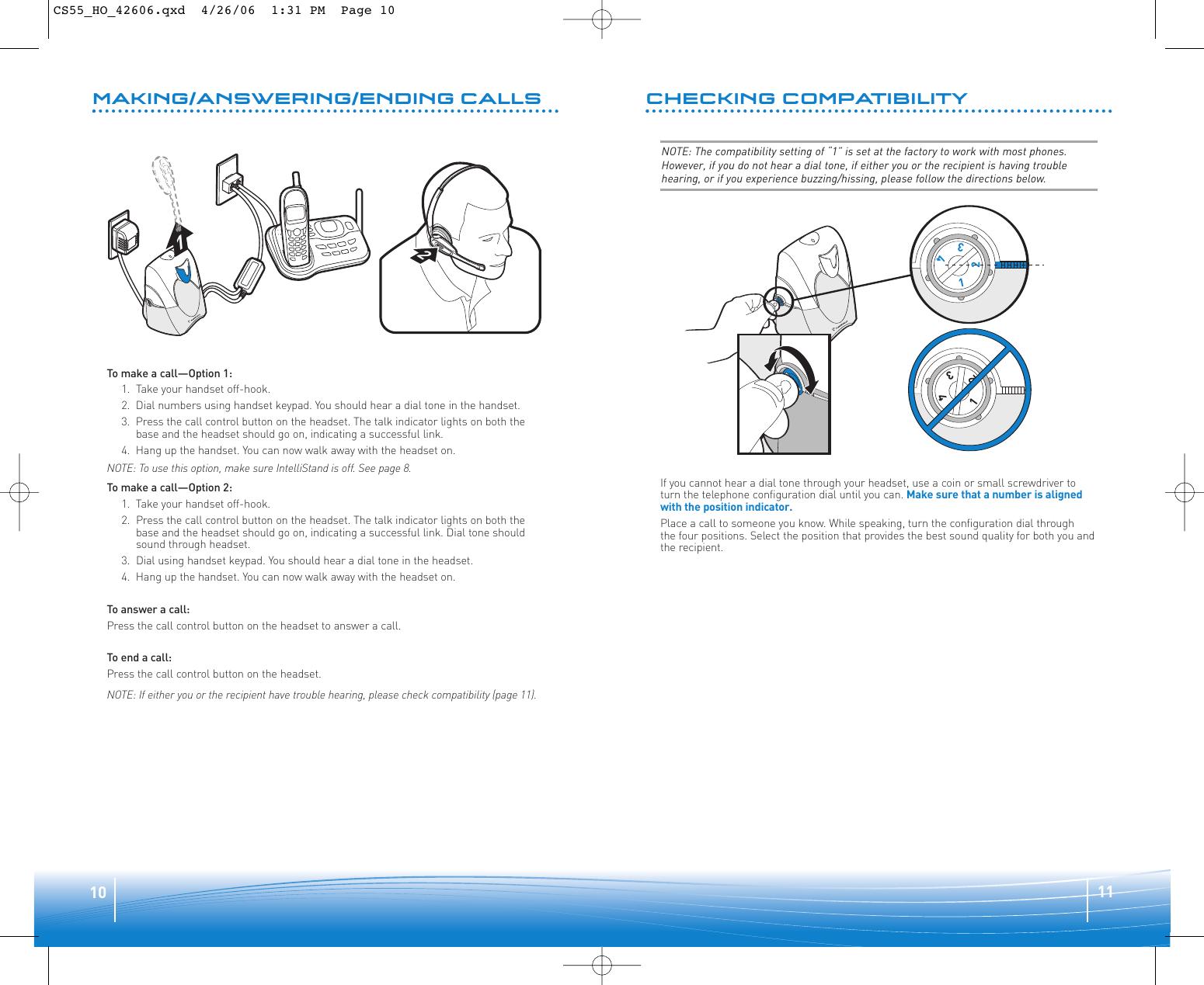 Plantronics Cs55 User Guide Cs55h Ug