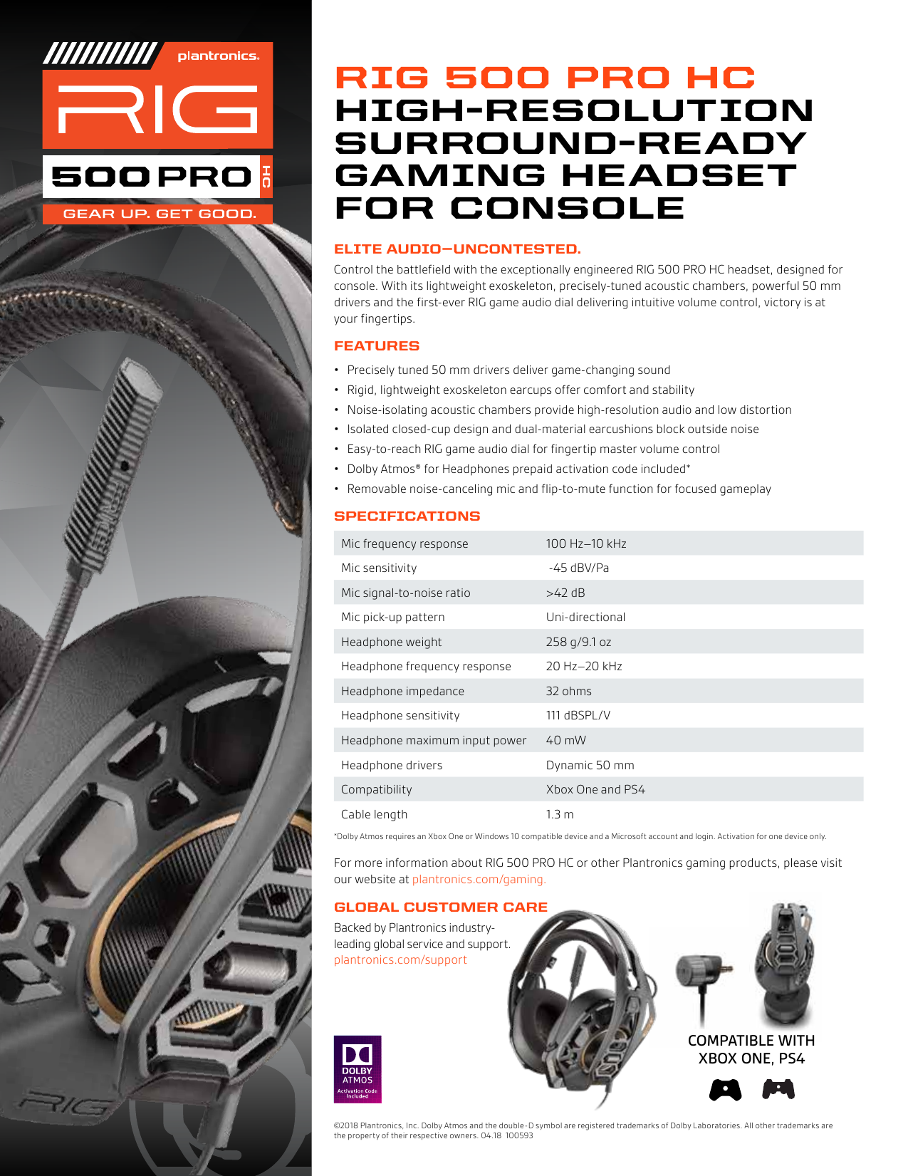 Rig 500 Pro Xbox One Set Up