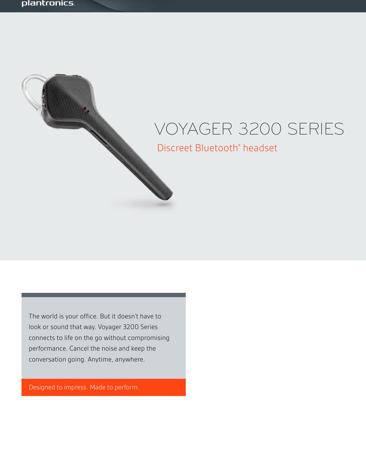 Plantronics Voyager 3200 Ps