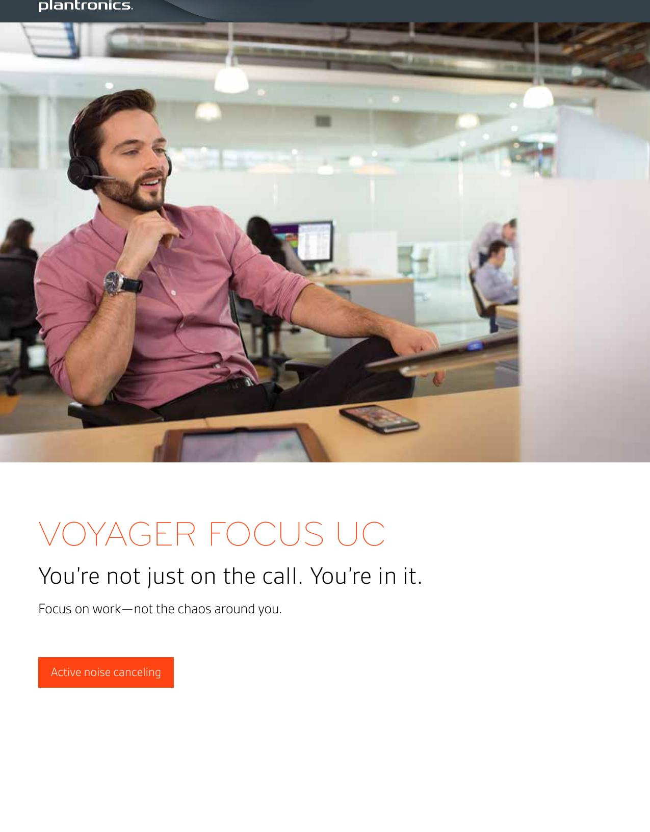 Plantronics Voyager Focus Uc Ps