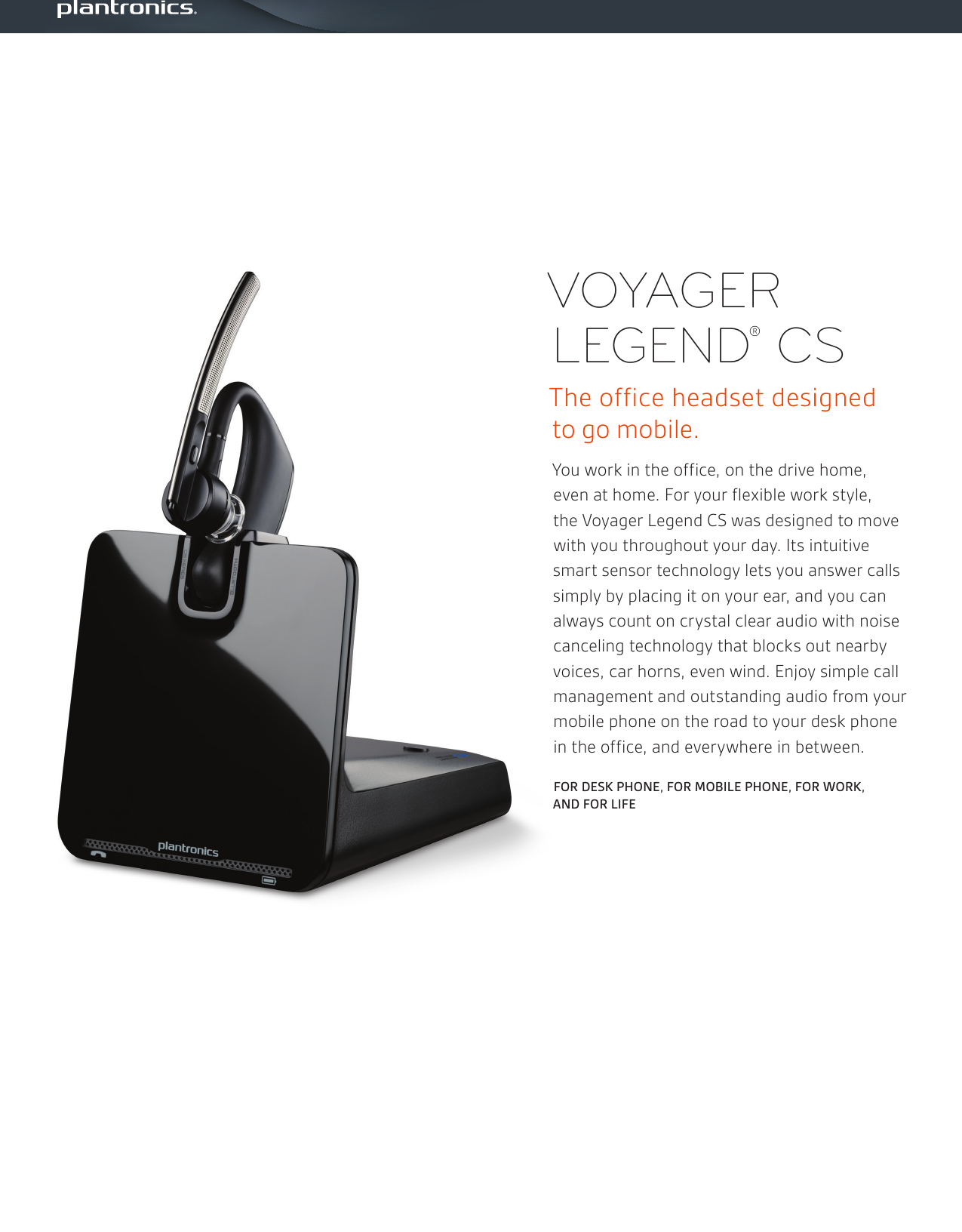 Plantronics Voyager Legend Cs Ps