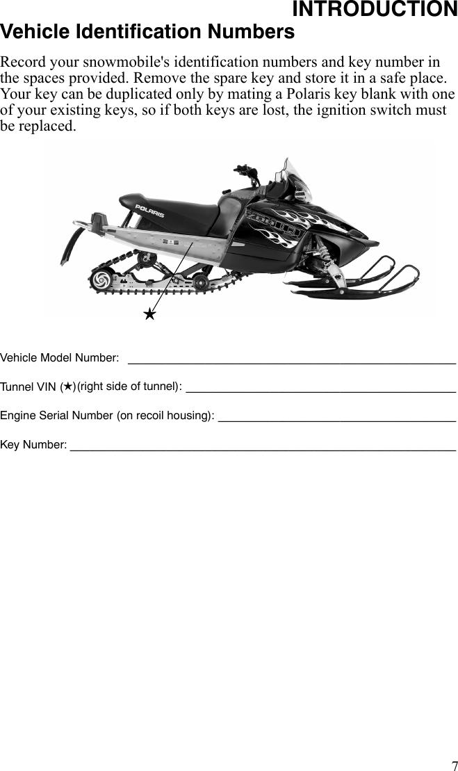 Polaris 600 Dragon Switchback Users Manual 2010 IQ DGN SWBK