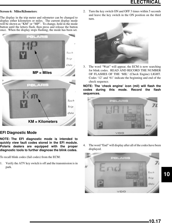 Polaris A07Mh46Aa Users Manual