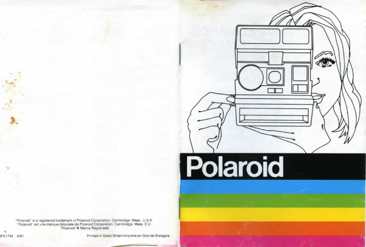 Polaroid 660 Operating Instructions