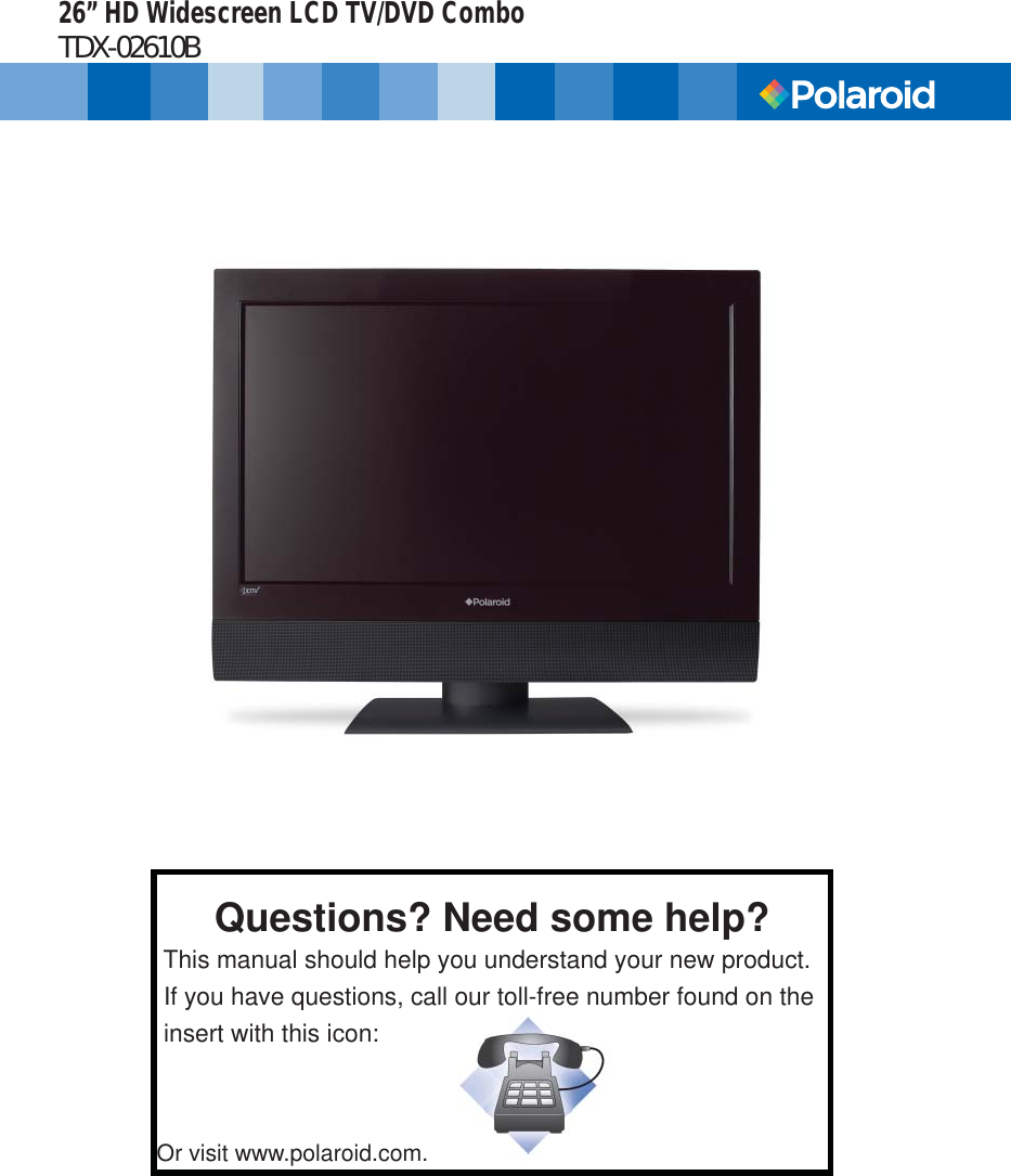 polaroid tv manual best user guides and manuals u2022 rh raviteja co Polaroid TV LED Polaroid TV Support