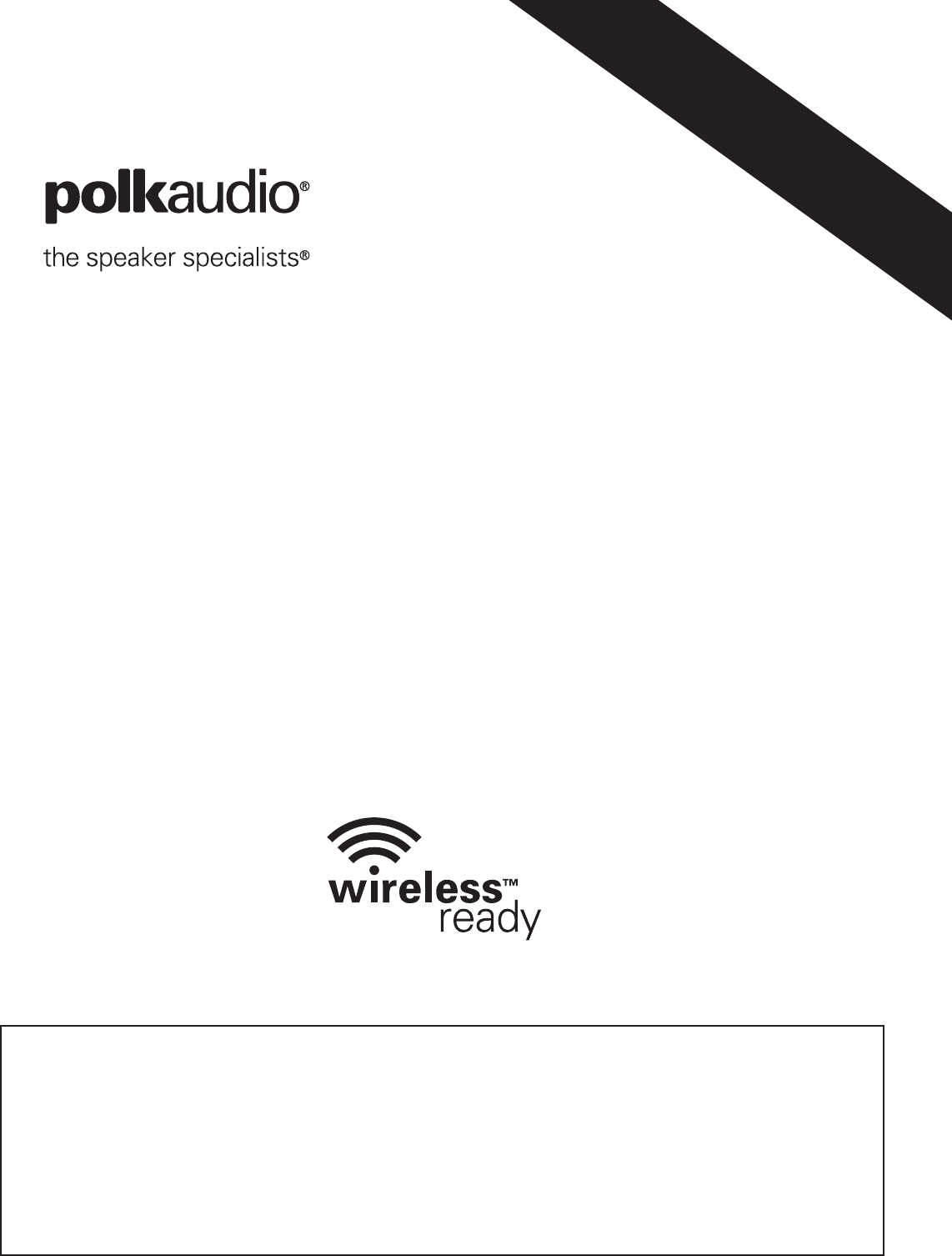 Polk Audio Dsw Pro 440Wi Users Manual
