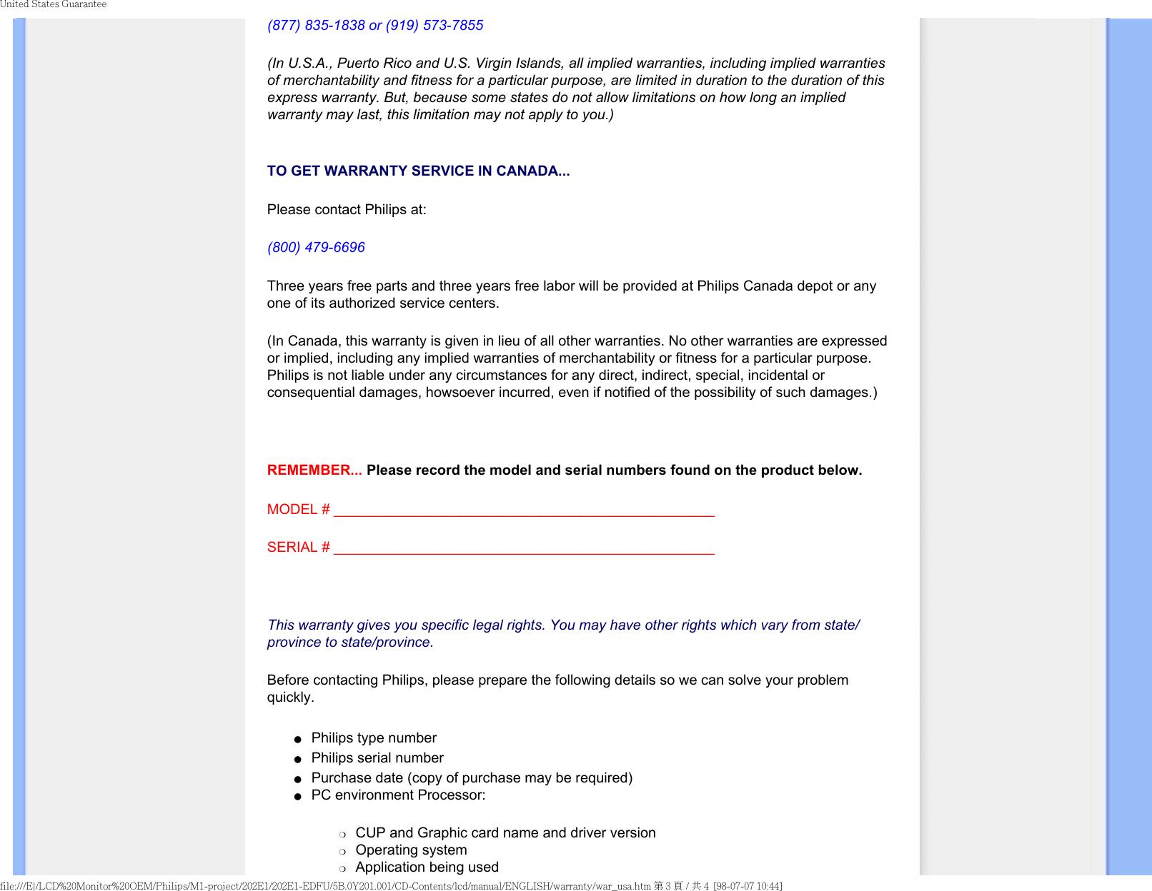 Posiflex Business Machines 202Ei Users Manual E