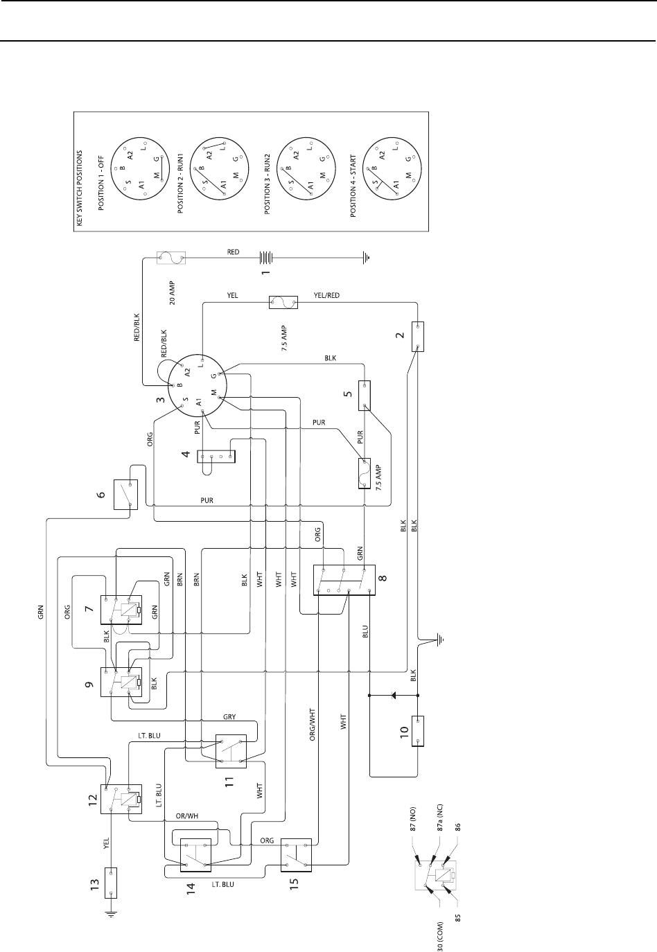 Poulan Pro 925 Zx 950 Op Manualih User Manual To The 43048af1 Riding Lawn Mower Wiring Diagram English 60 Diagrams