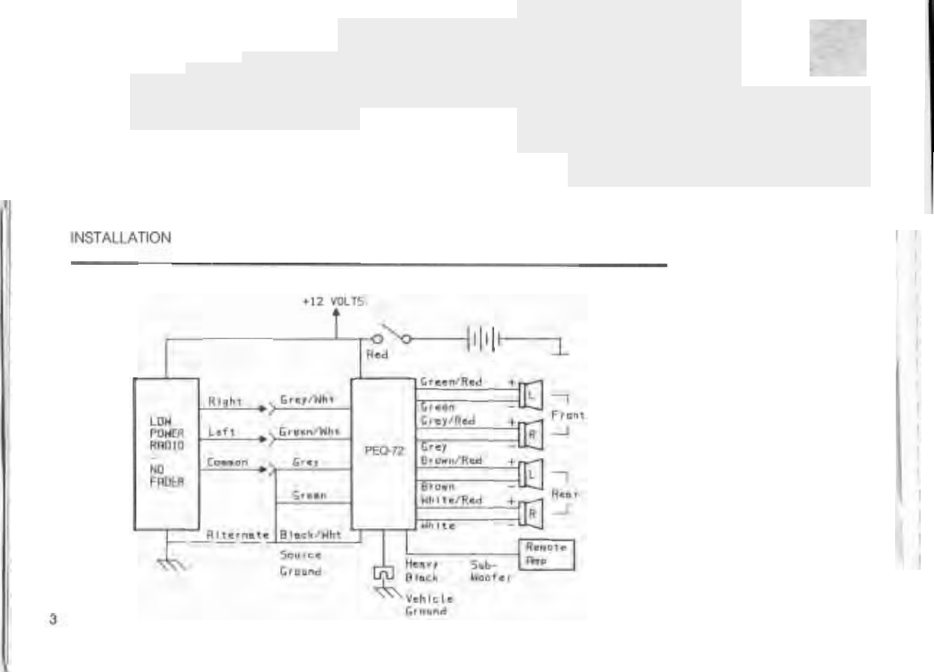 Power Acoustik Gothic 12 Wiring Diagram