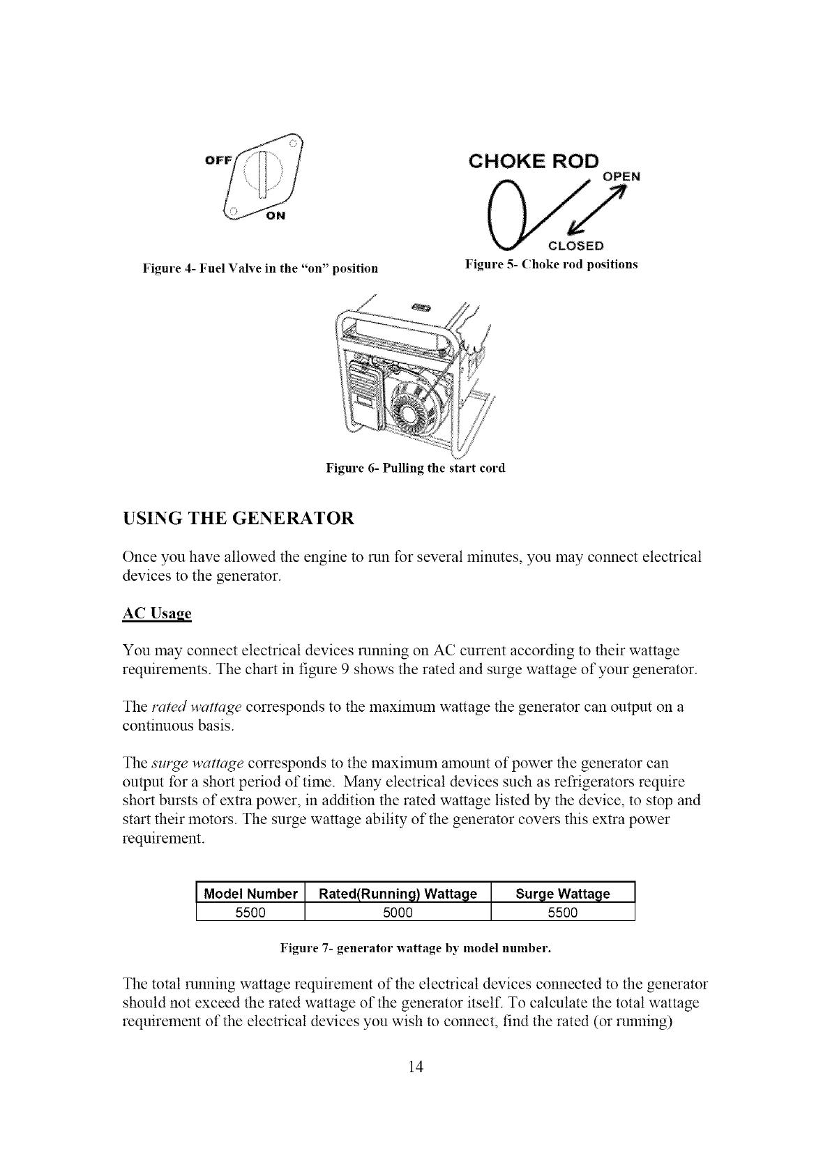 Power Pro Glt 5500 User Manual 13hp Generator Manuals And Guides Wen Wiring Diagram Off Choke Rod