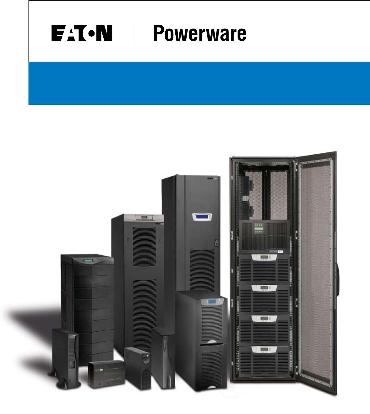 Powerware 9125 Manual Download