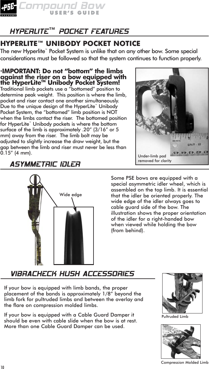 Pse Archery Manuals