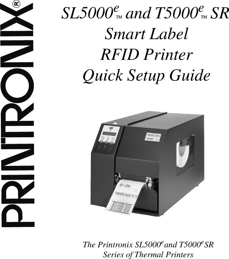 Drivers Update: Printronix PTNX SL5000e
