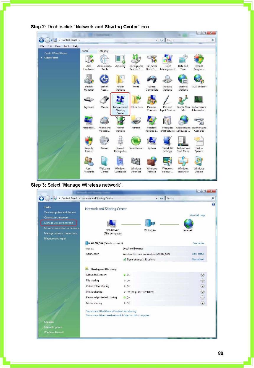 Pro Nets Technology WU81RL WIRELESS USB DONGLE User Manual user