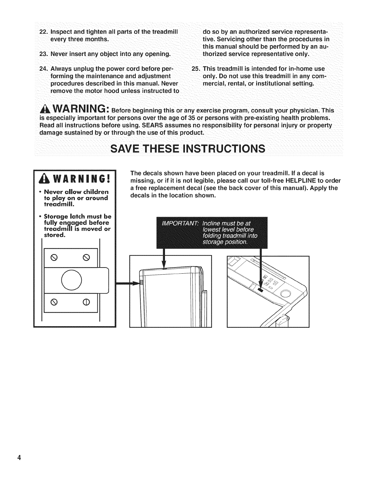 Sears Treadmill Motor Wiring Diagram 1998 Electrical Diagrams Proform 831297763 User Manual 725tl Manuals And Guides L0903349 Bridgeport Milling Machine