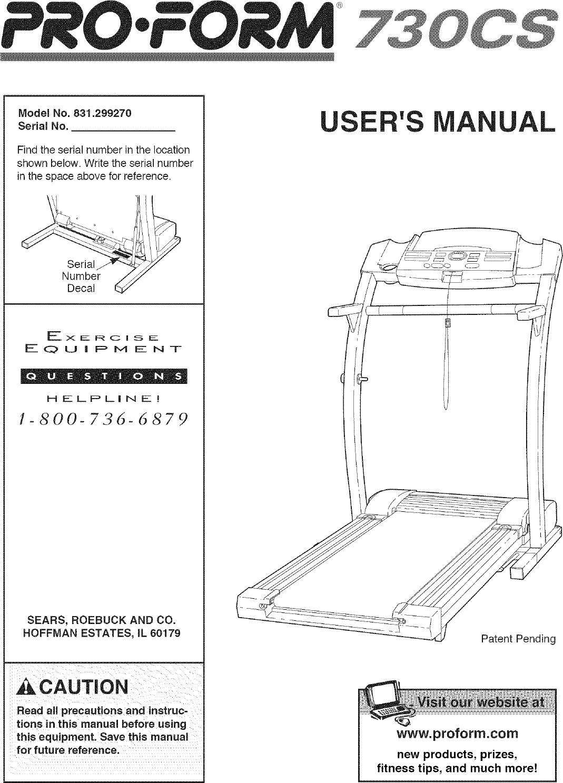 proform 831299270 user manual 730cs manuals and guides lr707400 rh usermanual wiki proform 740cs manual ifit proform 730cs manual