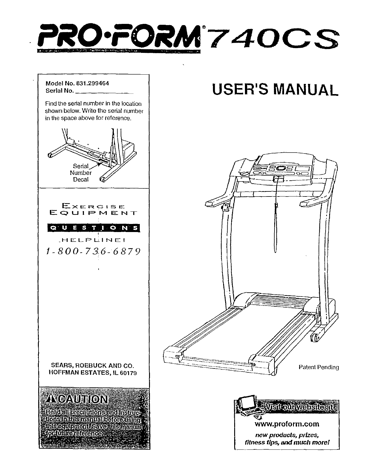 Proform Treadmill Manual