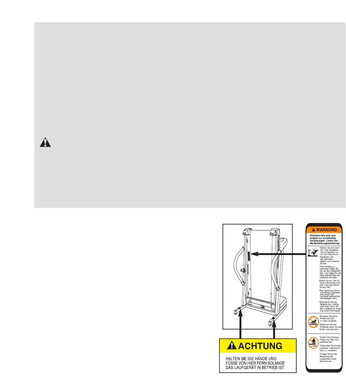 Proform Petl30134 360 P Treadmill Users Manual *PETL30133 211849(GR)