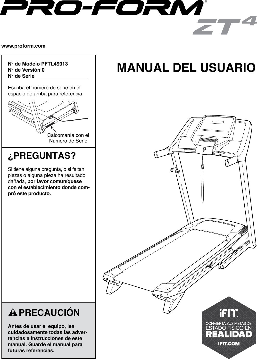 Diagram Treadmill Wiring Proform Pftl39513 1 Electrical Pftl490130 Zt4 Users Manual