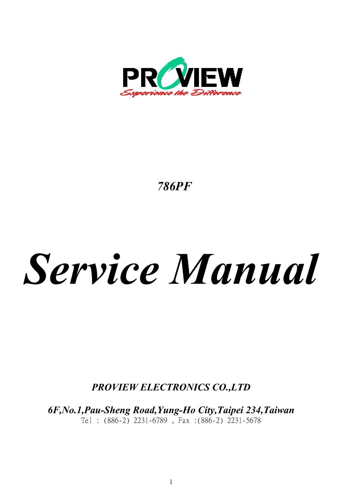 g wiring diagram workshop manual Array - proview computer monitor 786pf users  manual service rh usermanual wiki ...