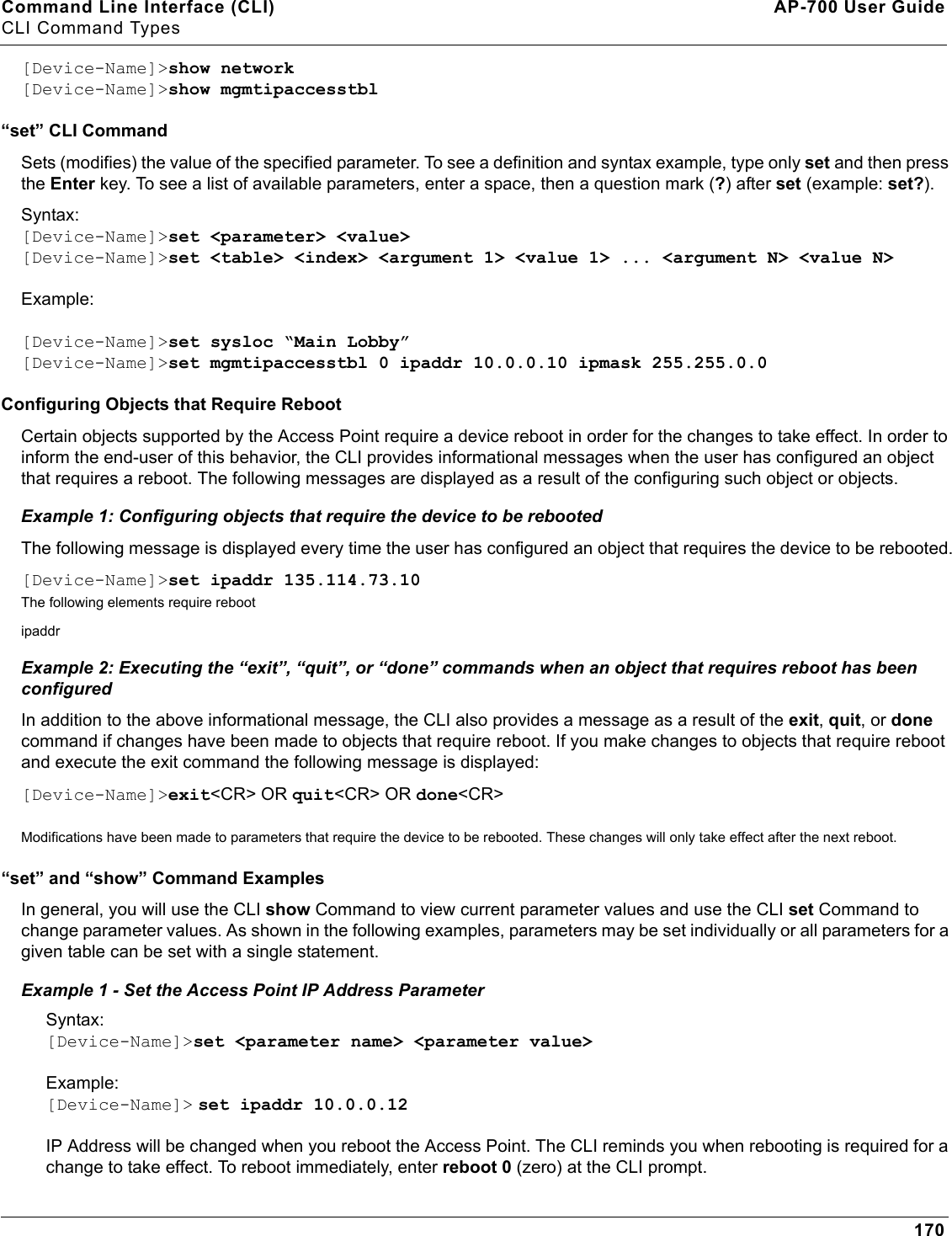 Proxim Wireless AP700 Wireless Access Device User Manual APs UG