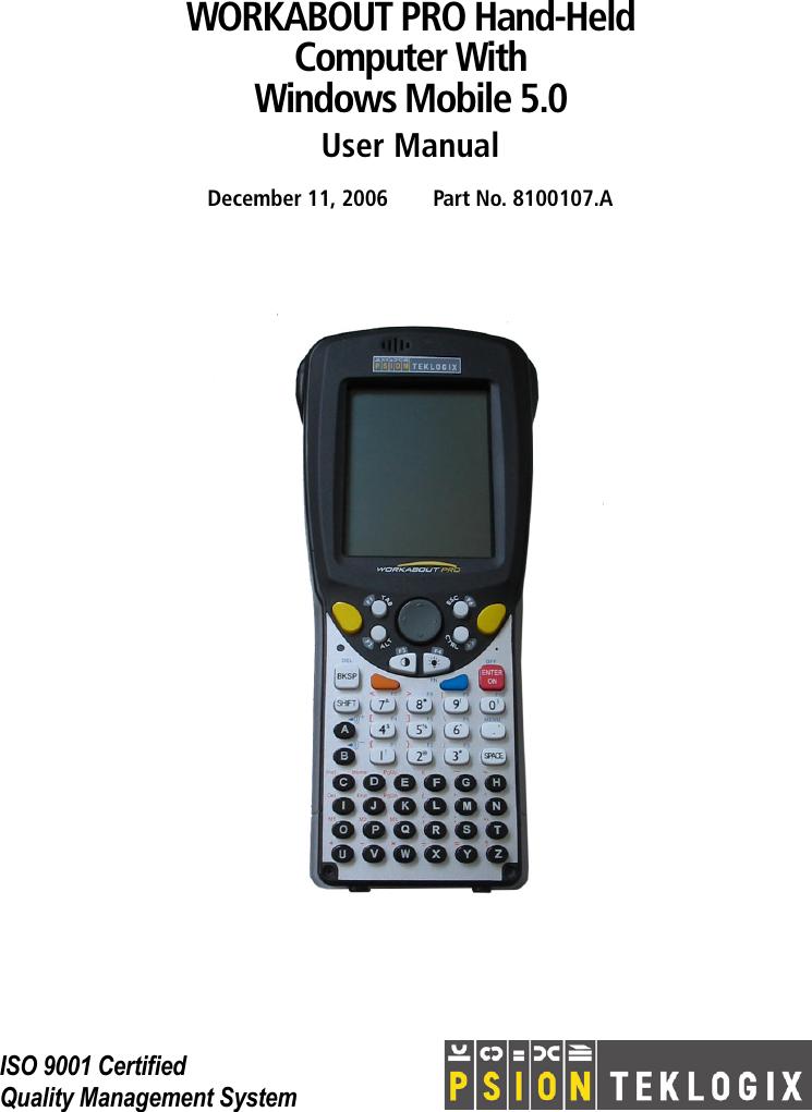 psion teklogix 8100107b users manual rh usermanual wiki Windows Mobile 6.1 Windows Mobile 6