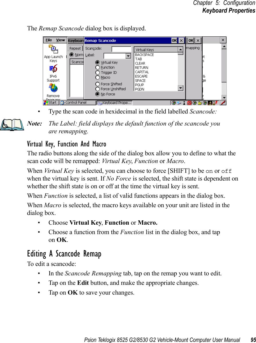 Psion Teklogix Vehicle Mount Computer 8525 G2 Users Manual