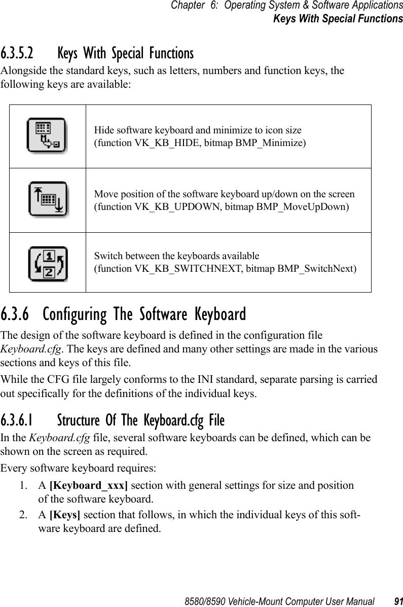 Psion Teklogix Vehicle Mount Computer 8580 Users Manual