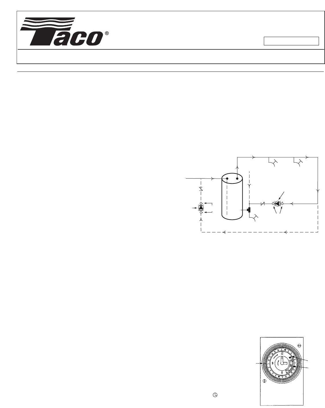 12708 3 Taco 006 St4 2pnp Instructions 102 100 User Manual Wiring Diagram