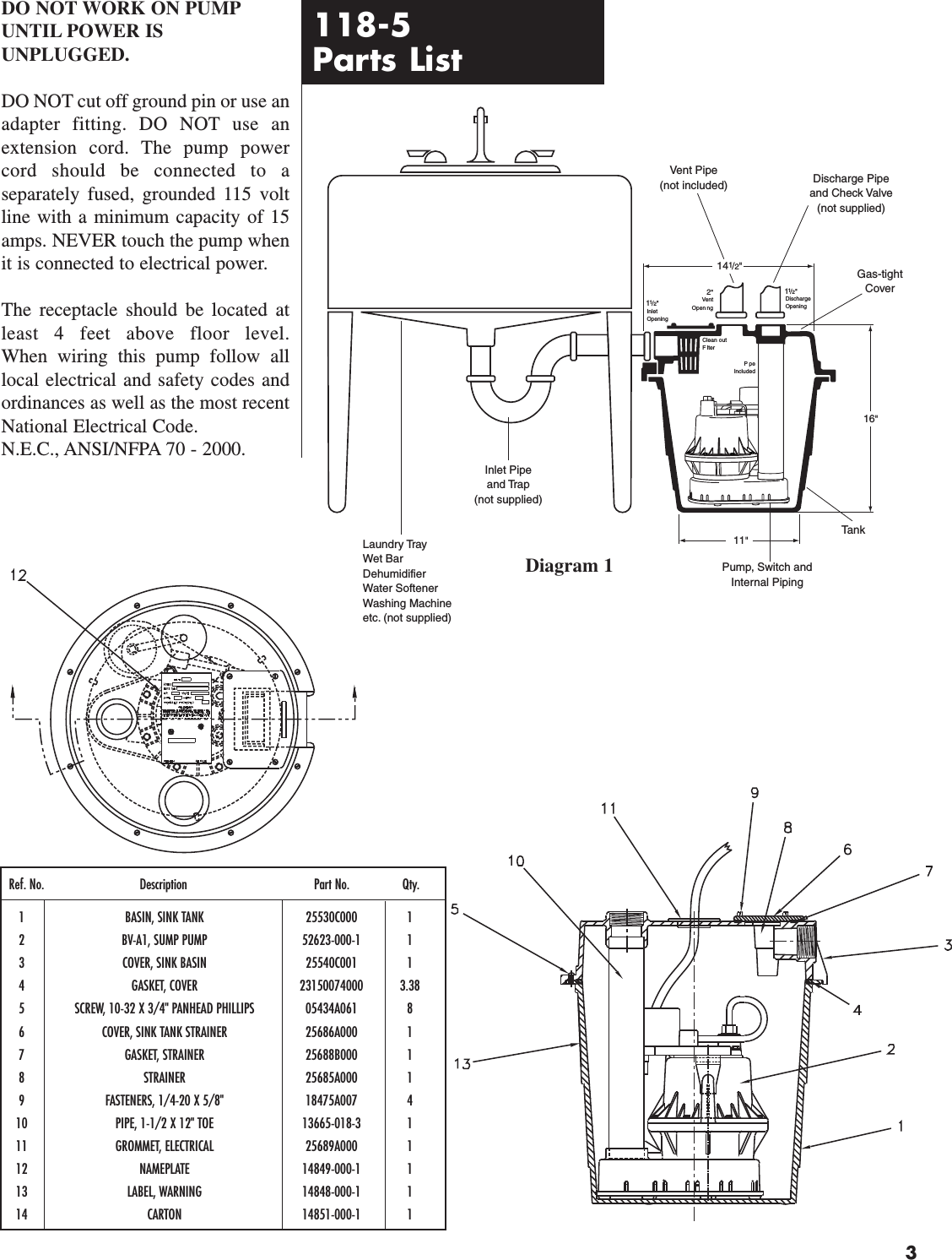 138760 3 Hydromatic 118 5 System Owners Manual Pump Cycle Electrics Panhead Wiring Diagram Page Of 4