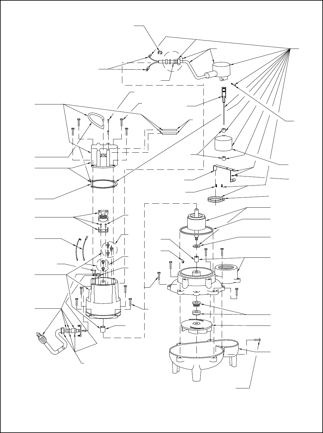 182 4 Zoeller 267 Series Repair Parts User Manual
