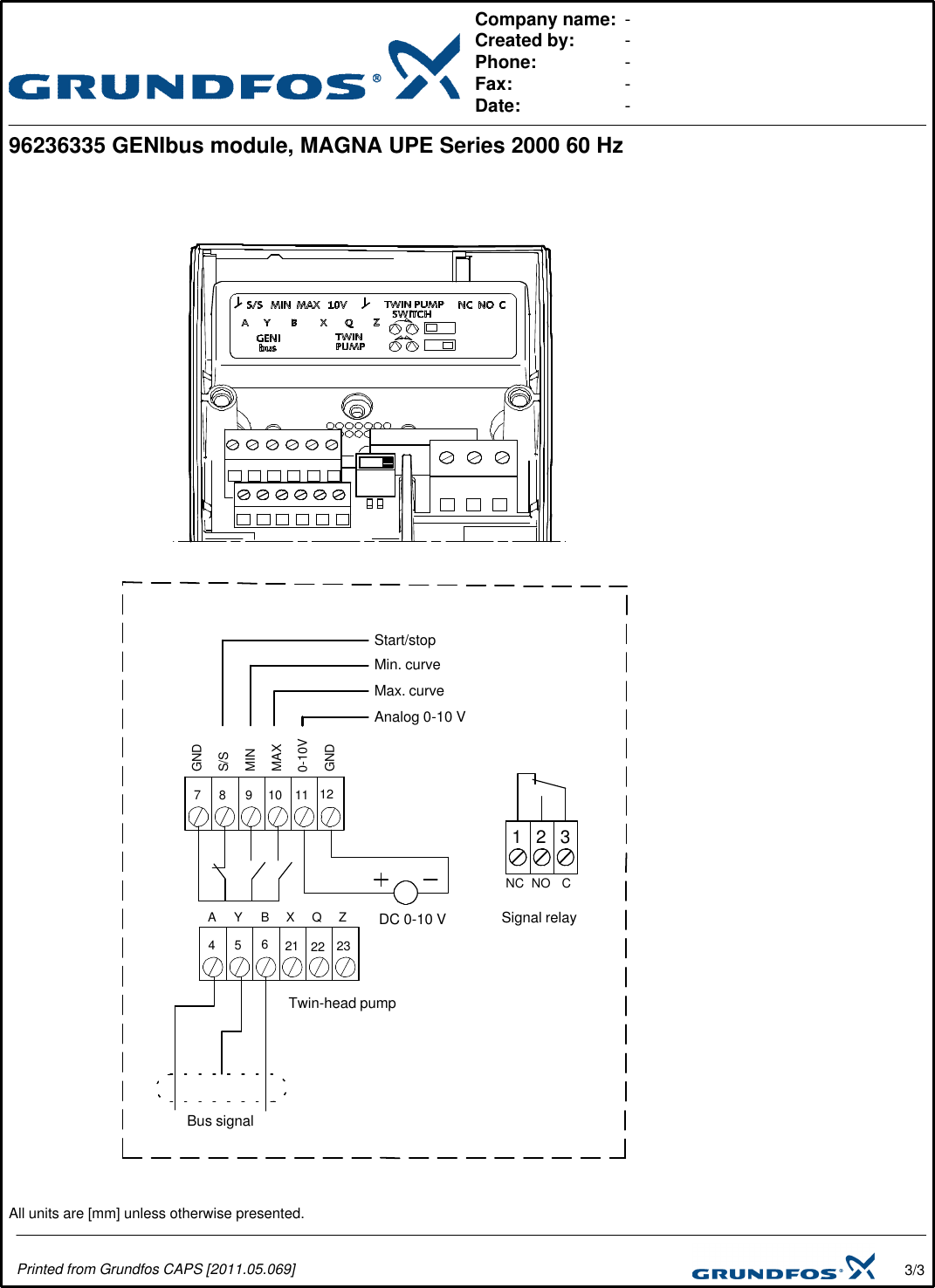 Grundfos Wire Diagram Wiring Diagram Forward