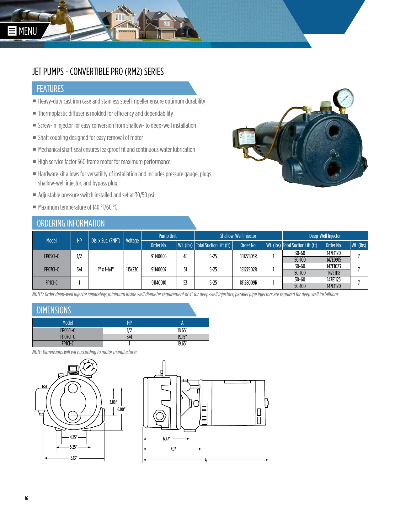 Giant Pump P422 Manual Guide
