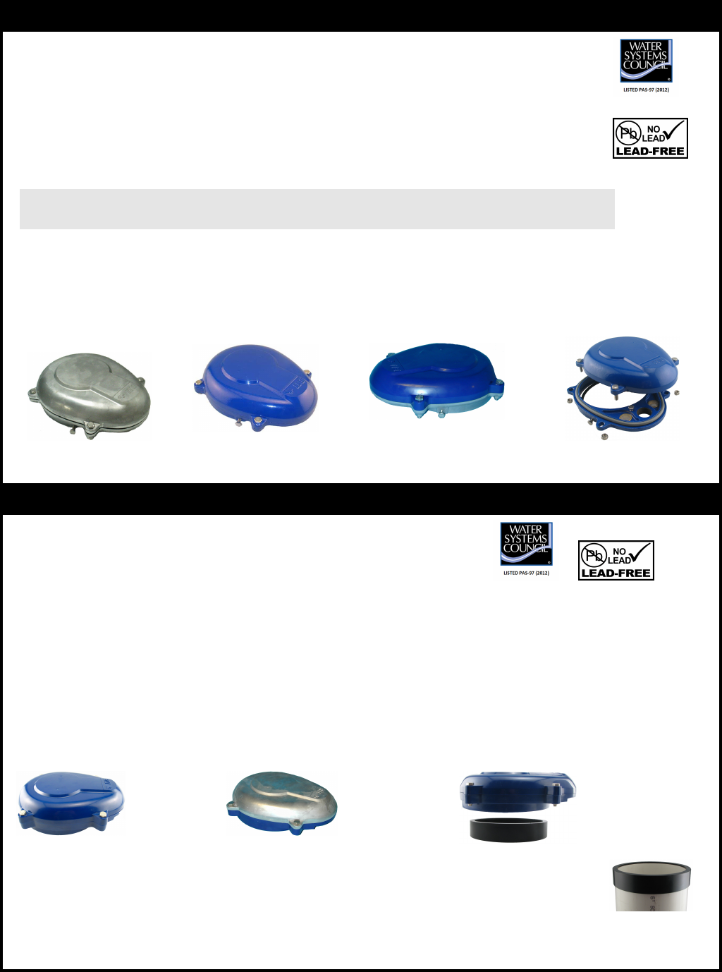 536566 1 Boshart Wtc Series Brochure PITLESS ADAPTERS, WELL CAPS