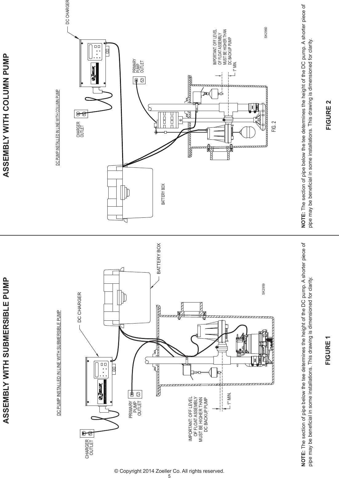 536908 2 Zoeller Aquanot 508 Installation Manual User Submersible Pump Wiring Diagram Page 5 Of 8