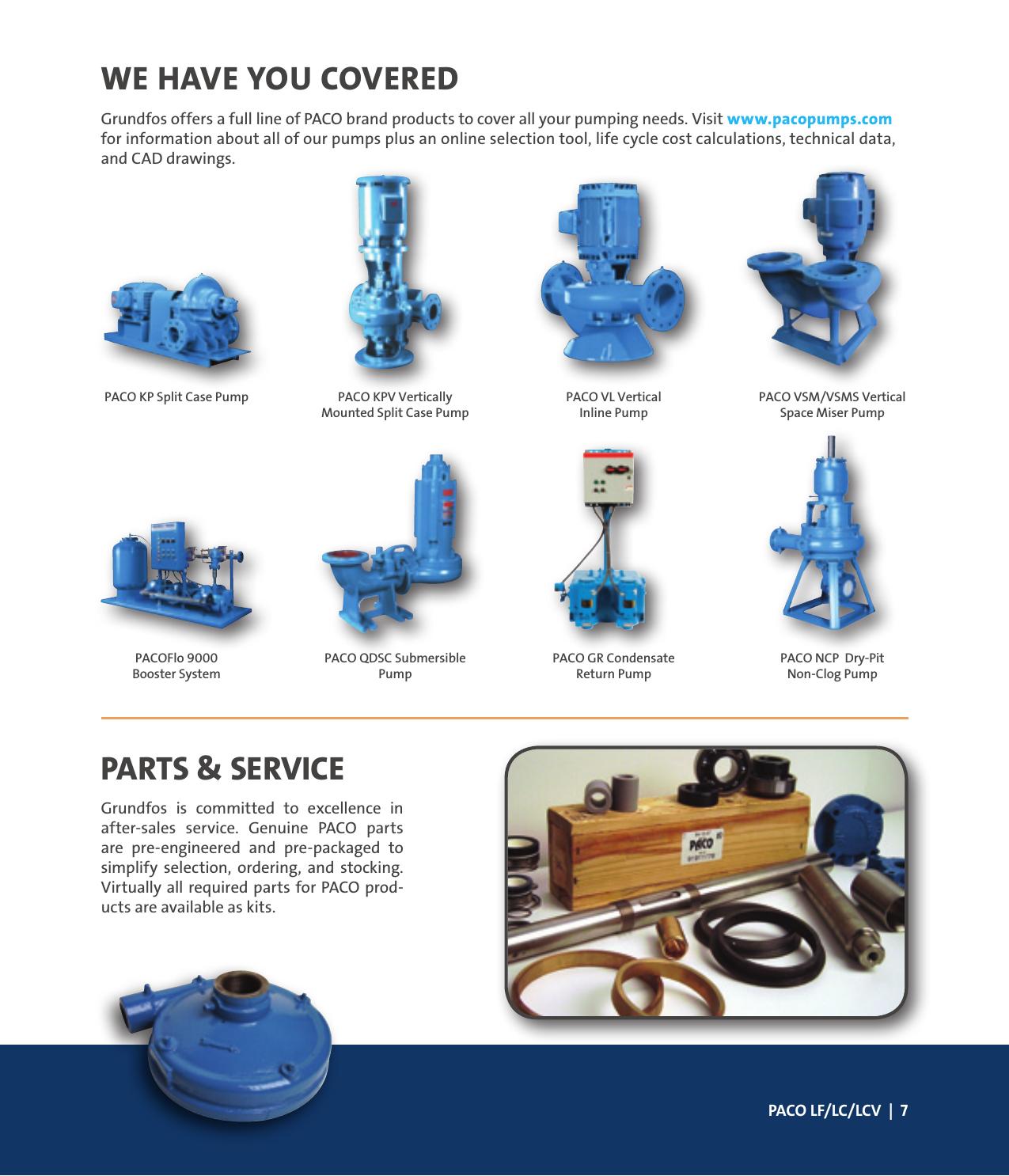 Paco Pump Parts Diagram