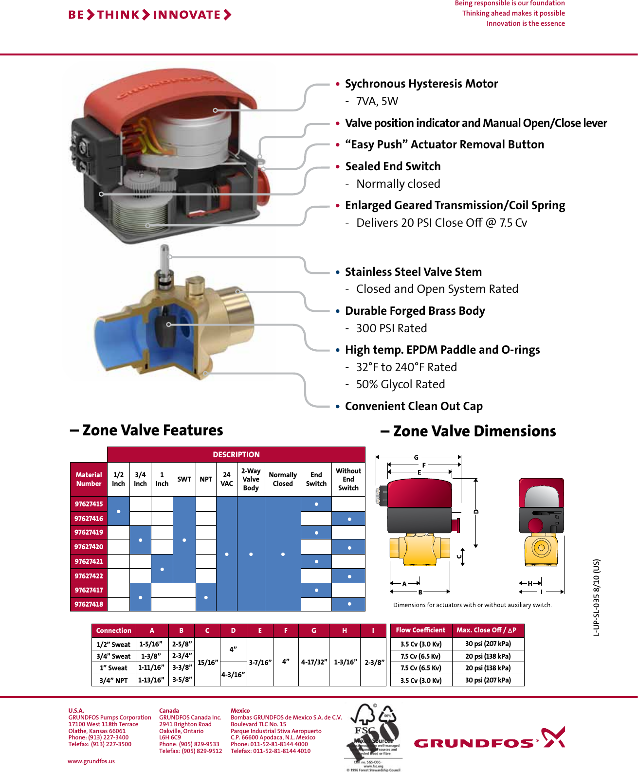 page 2 of 2 - 537355 1 grundfos zone valves brochure user manual