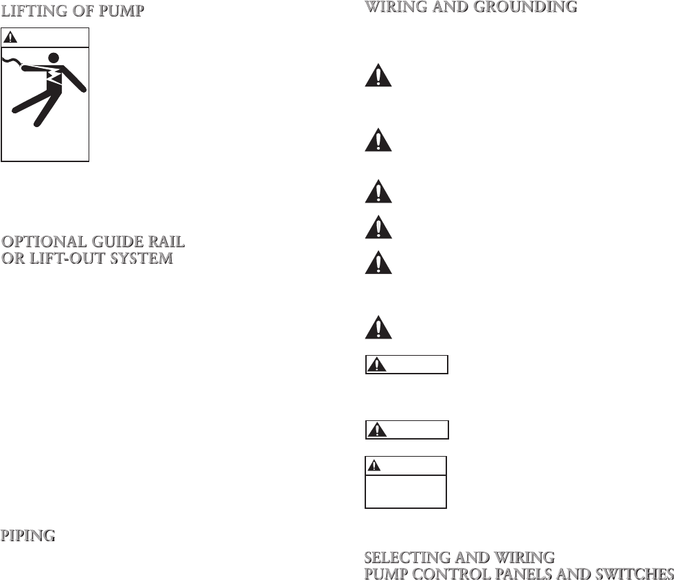 538567 2 Goulds Single Phase Sump Pump Installation Manual Wiring Diagram Float Switch Hecho 4