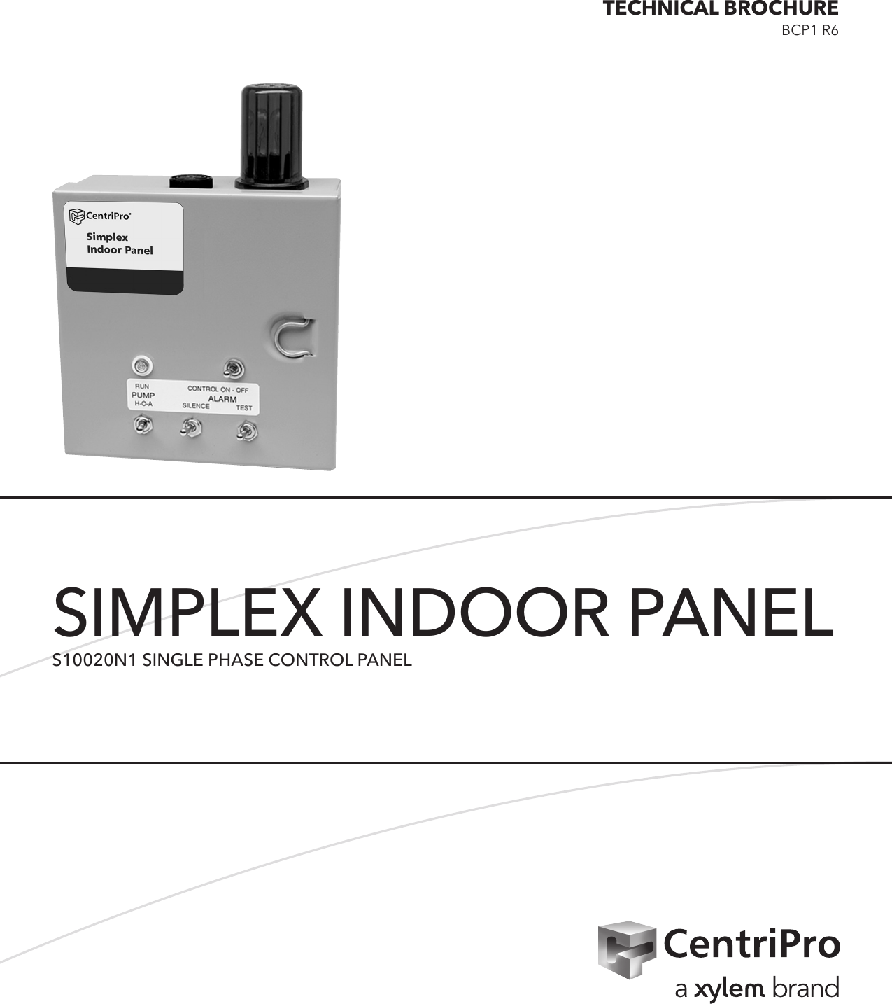 538638 3 Goulds A Series Simplex Indoor Panel Bcpa3 Bcp1 S10020n1 Iid Wiring Diagram Single Phase Control Technical Brochure