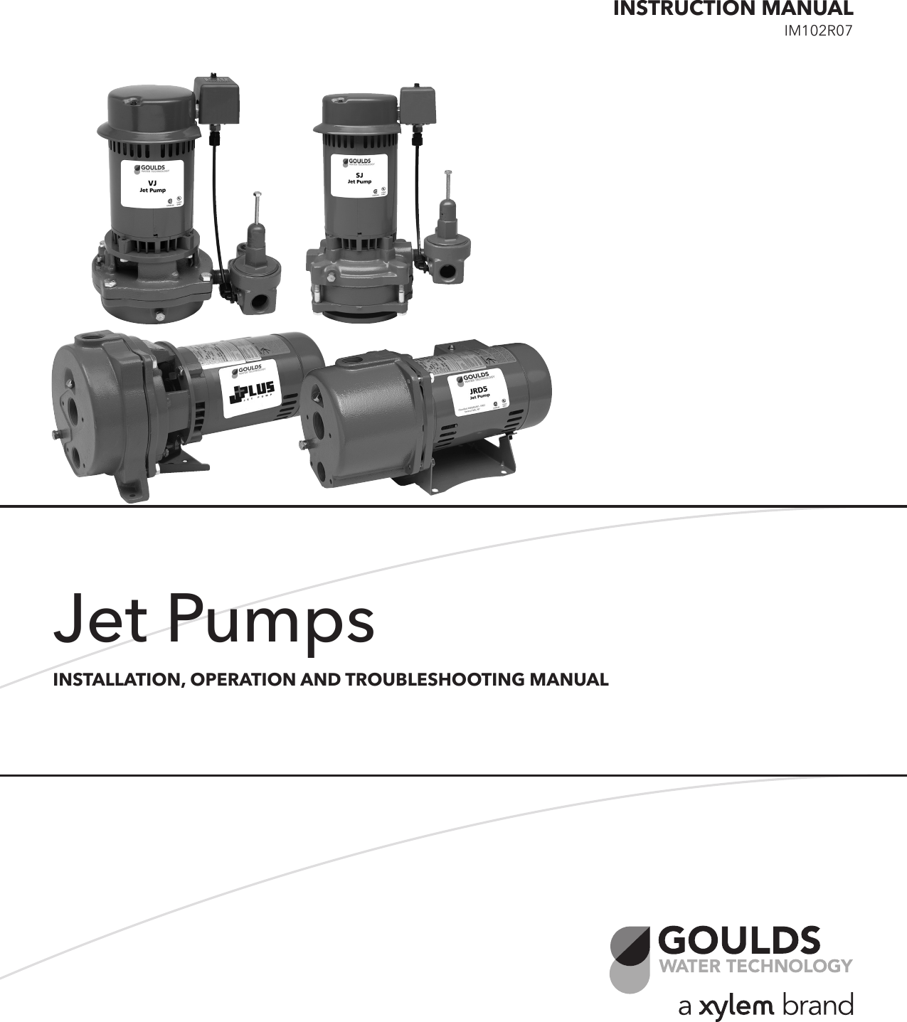 Goulds Jet Pump Troubleshooting Image collections - Free ...