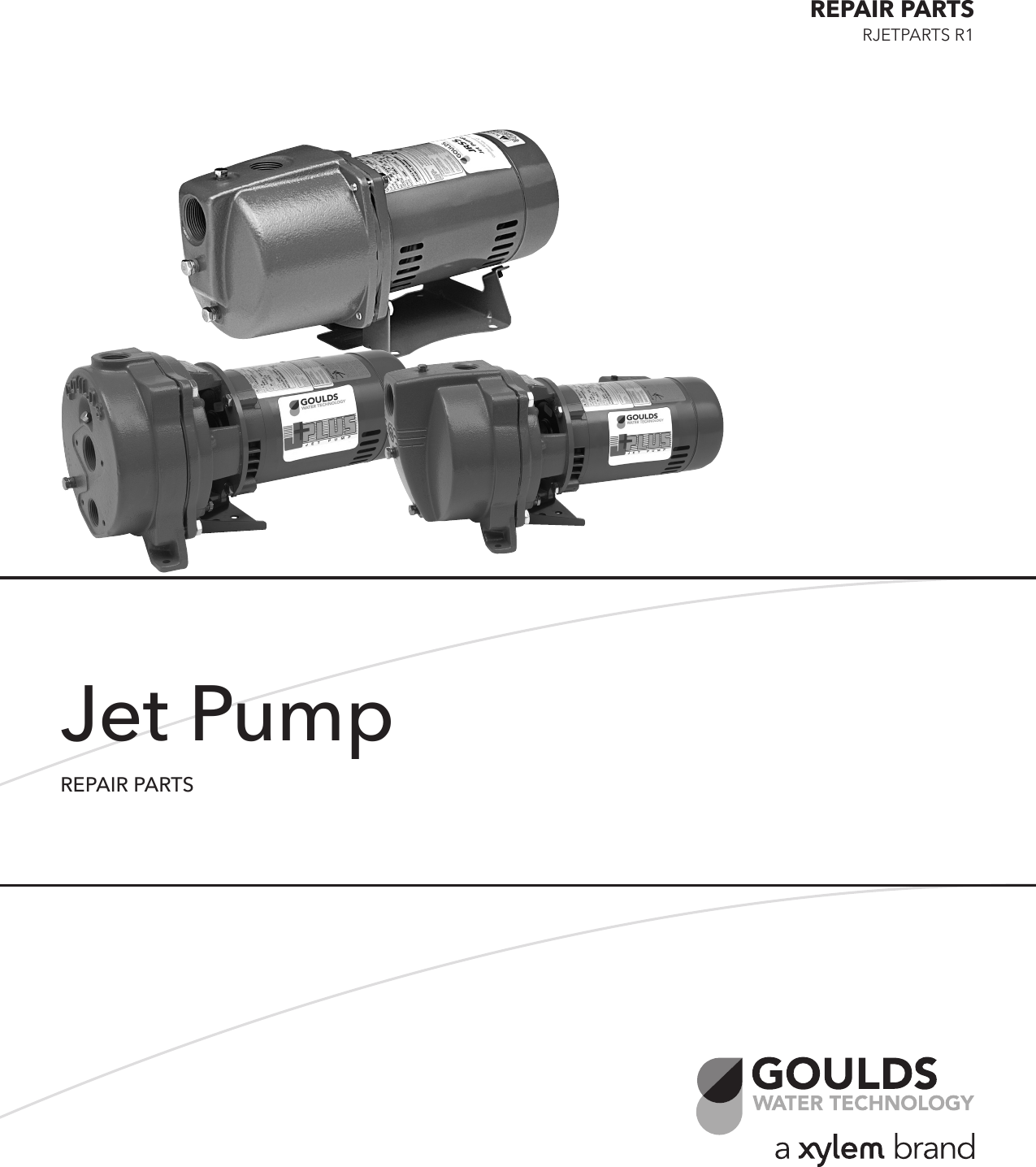 538690 3 Goulds Jet Pump Repair Parts