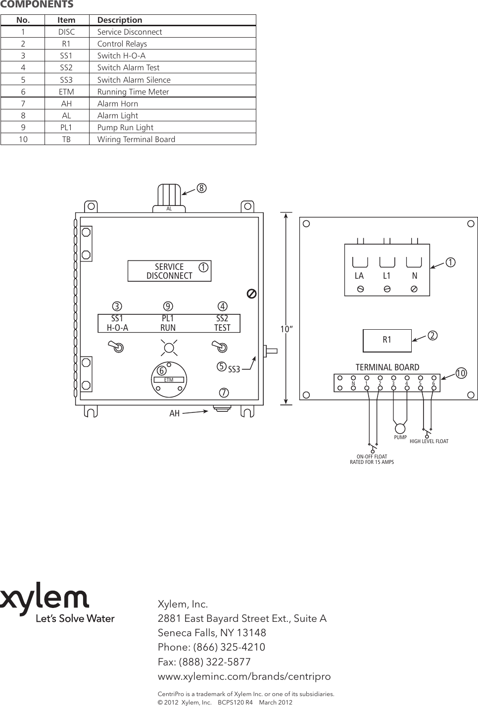 540195 2 Centripro Ses S12015fr Simplex Control Panel Technical Brochure Ss2 Wiring Diagram Page 4 Of