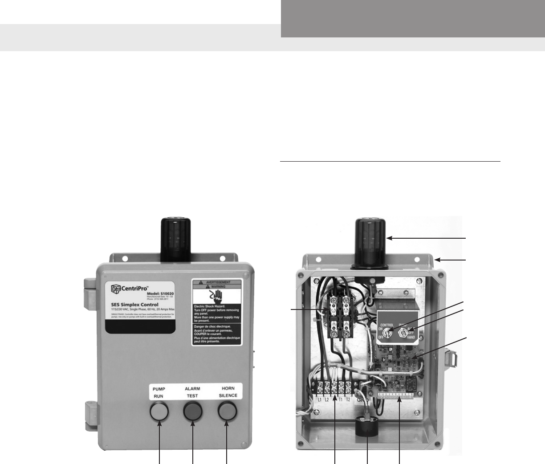540202 2 Centripro Ses S10020 S32232 Simplex Control Panel