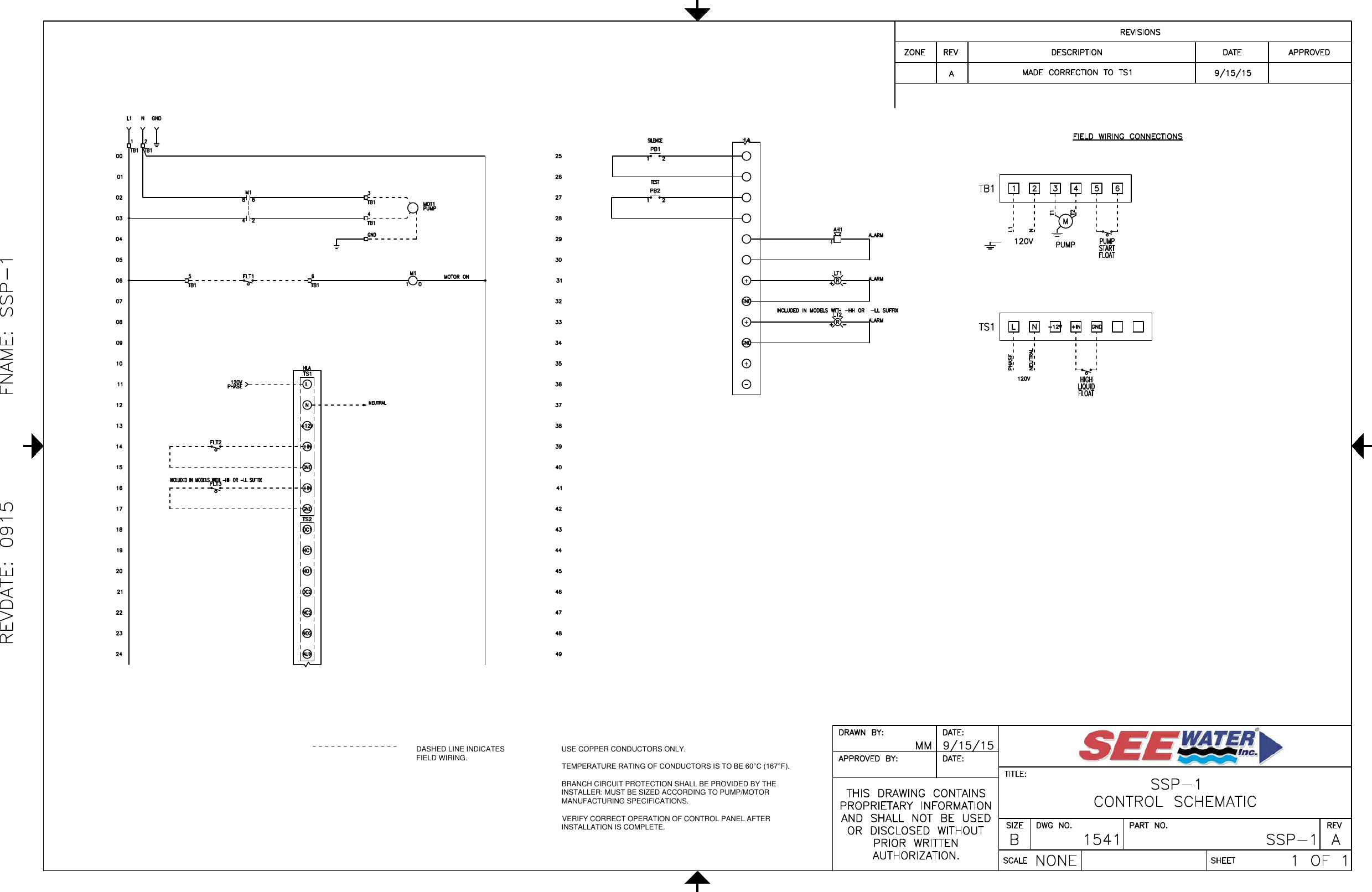 1 551221 3 See Water Inc Simple Simplex Control Panel Wiring Diagram Guide Pdf Page Of