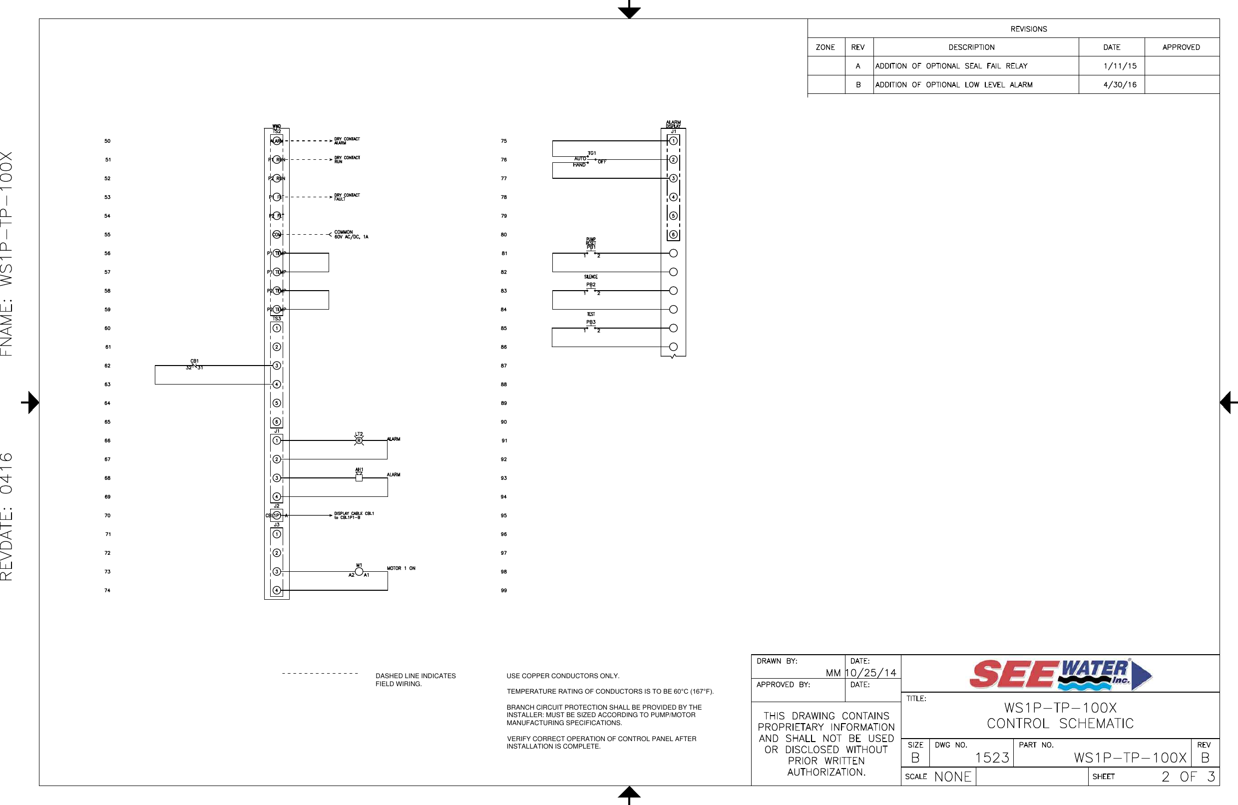 Page 2 of 3 - 3 551281 See Water Inc. Single Phase Simplex Demand WS1P